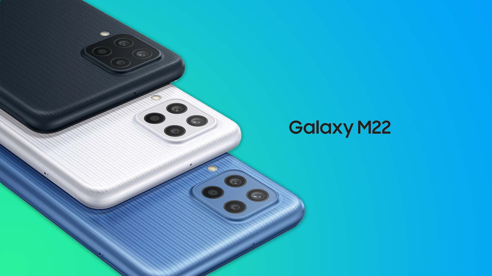 Galaxy M22 goes official with a 90Hz Super AMOLED show and a quad-camera arrangement