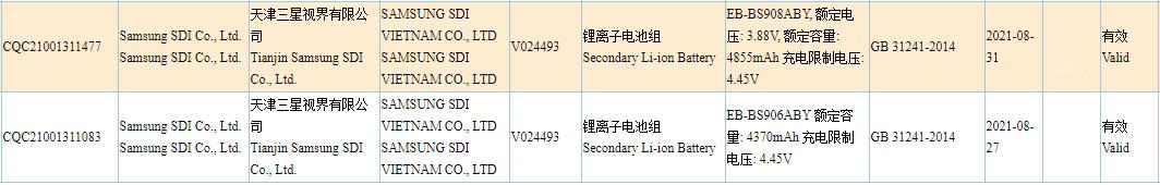 Samsung Galaxy S22+ Galaxy S22 Ultra Battery Capacity Leak